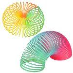 Bememo 12 Pièces Rainbow Spring Arc-en-Magique Printemps Coloré Magic Spring Mini Couleur pour Remplisseuses de Sac de Fête Jouet, Plastique de la marque Bememo image 1 produit