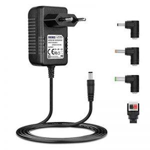 BERLS 12V1.5A Bloc d'alimendation 5,5mm*2,1mm Chargeur Adaptateur pour Ordinateur Portable, imprimante, numériseur, routeur, télécopieurs, TFT, écran LCD,décodeur Satellite et de Nombreux appareils de la marque image 0 produit