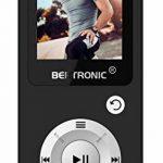 BERTRONIC Made in Germany BC04 Royal MP3-Player - lecteur audio/vidéo - autonomie 100 heures de lecture audio, podomètre, haut-parleur - extensible jusqu'à 128 Go avec micro cartes mémoire SD de la marque BERTRONIC image 1 produit