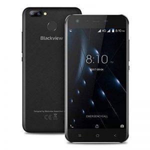Blackview A7 Pro - 5,0 4G FDD-LTE Smartphone, Android 7.0 Quad Core 2 Go 16 Go, Appareil Photo 8MP+0.3MP, 5MP, Écran dur HD, Lecteur D'empreinte Digitale, Dual SIM, Téléphones Portables Débloqués de la marque Blackview image 0 produit