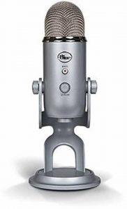 Blue Microphones - Microphone USB Yeti Argent Silver Edition de la marque Blue Microphones image 0 produit