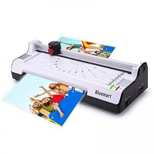Blusmart Plastifieuse et Massicot A4, Chaud et à Froid Avec Arrondisseur D'angles 3 en 1 Machine à Plastifier, 250mm/min Vitesse de la marque Blusmart image 0 produit