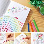 Borte 18Feuilles Stickers, Stickers et récompense, 3Formes Craft Stickers, Couleurs Assorties, faciles à décoller la Programmation étiquette pour Scrapbooking de la marque Borte image 4 produit