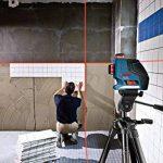 Bosch 0601063309 Laser Lignes Et Croix Professional GLL 3-80 P (3 Lignes Projetées Sur 360°, Portée de 40 M (sans Cellule de Réception) avec Cible, Housse de Protection, Support) de la marque Bosch Professional image 1 produit