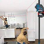 Bosch 0601063309 Laser Lignes Et Croix Professional GLL 3-80 P (3 Lignes Projetées Sur 360°, Portée de 40 M (sans Cellule de Réception) avec Cible, Housse de Protection, Support) de la marque Bosch Professional image 2 produit