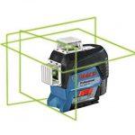 Bosch Professional 0601063T00 Laser Lignes Gll 3-80 CG, Bleu de la marque Bosch Professional image 1 produit