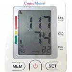 Bracelet numérique Tensiomètre-Lectures précises de la pression du sang, Moniteur normale et irrégulier pouls et irrégularité cardiaque, avec mémoire. Surveille la haute et basse pression artérielle. de la marque Cerebral Medical image 2 produit