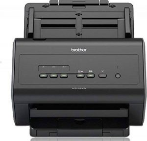 Brother ADS-2400N Scanner bureautique |A4 |Recto-Verso |40 ppm | Chargeur 50 Feuilles |Ethernet |Scan to USB de la marque Brother image 0 produit
