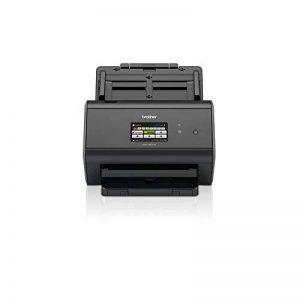 Brother ADS-2800W Scanner bureautique |A4 | Recto-Verso | 40 ppm | Ecran Couleur Tactile | Ethernet et Wi-FI | Chargeur 50 Feuilles | Scan to USB de la marque Brother image 0 produit