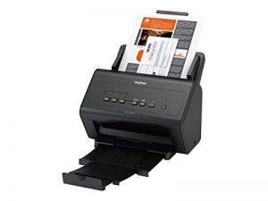 Brother ADS-3000N Scanner bureautique |A4 |Recto-Verso | 50 ppm | Ethernet |Chargeur 50 Feuilles |Couleur |Noir/Blanc| Scan to USB 3.0 de la marque Brother image 0 produit
