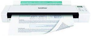 Brother DS-920DW Scanner Mobile |A4|Recto-Verso|Alimentation USB|Carte SD fournie 4 Go| autonomie sur Batterie|7,5 ppm|Couleur| Noir/Blanc| Wi-FI| Pochette de Transport |Scan to USB de la marque Brother image 0 produit