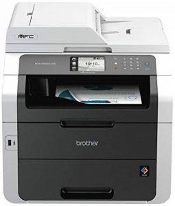 Brother MFC-9330CDW Imprimante Multifonction 4 en 1 LED | Couleur | A4 | PCL6| Ecran Tactile Couleur |Impression Recto-Verso, Numérisation, Copie, Télécopie |Ethernet et Wi-Fi de la marque Brother image 0 produit
