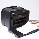 Brother MFC-J5730DW Business Smart | Imprimante Multifonction 4 en 1 | Jet d'encre | Couleur | A4 | Imprimession Recto-Verso Jusqu'au A3, Numérisation, Copie, Télécopie | Ethernet et Wi-FI de la marque Brother image 2 produit