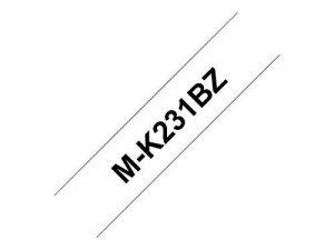 Brother Mk231BZ Ruban thermique 12 mm Noir/Blanc de la marque Brother Bureautique image 0 produit