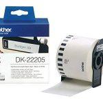 Brother Original DK22205 Noir sur Blanc Papier Thermique de la marque Brother image 1 produit