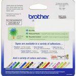 Brother Original TZE231 Noir sur Blanc Ruban Laminé | 12mm de large | 1 rouleau(x) de la marque Brother image 1 produit