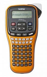Brother P-Touch E100 Etiqueteuse Noir de la marque Brother image 0 produit