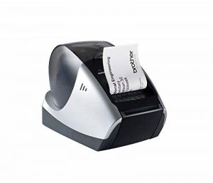 Brother P-touch QL570 Étiqueteuse USB 2.0 Noir/argent de la marque Brother image 0 produit