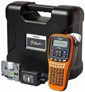Brother PTE100VP Etiqueteuse Electronique pour Electriciens Orange/Noir de la marque Brother image 0 produit