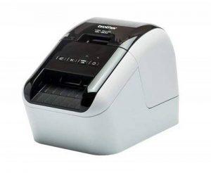 Brother QL-800 Imprimante d'étiquettes Professionnelle | P-Touch Editor | Impression Rouge/Noir | 93 étiquettes/Min | Inclus 1 Rouleau DK-11201 et 1 DK-22251 de la marque Brother image 0 produit