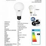 BT7802SI A60 Lot de 20 ampoules LED à économie d'énergie 6 W E27 470 lm 17 SMD de la marque Betterlighting image 4 produit