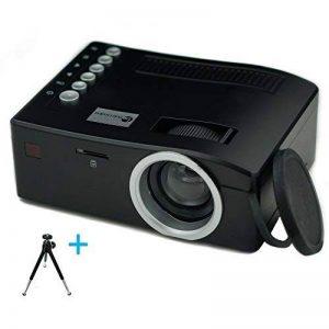 Build Excellent Vidéoprojecteur Portatif Pico Projecteur LED Mini Projecteur LCD Home Cinéma (UC18) de la marque Build Excellent image 0 produit