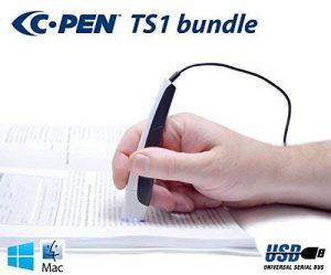 C Scanner de Pen TS1 Bundle – Stylet avec OCR et texte traduction Programme de la marque C-Pen image 0 produit