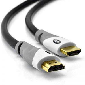 Câble HDMI 1,5m - Compatible nouvelle norme HDMI 2.0b / 2.0a - Ultra HD 2160p (4K) / Full HD 1080p - Hautes performances : HDR, 3D, Ethernet, CEC, Audio Return Channel (ARC) - Gaine PVC souple et triple blindage de la marque Tech'Import image 0 produit