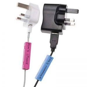 Cablebug2 (petit/multi couleur) paquet de 40 étiquettes à pince de serrage pour l'identification des câbles de la marque Cablebug image 0 produit