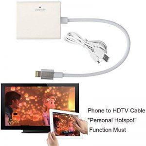 CABLING® Adaptateur pour iphone 5, 6, 7 vers télé HDMI, HDTV, haute définition de la marque CABLING® image 0 produit