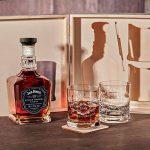 Caisse en bois avec jack Daniel's single baril Tennessee Whiskey | 6pièces Whisky Coffret cadeau incluant la Gravure motif–Quality Whisky de la marque polar-effekt image 3 produit