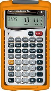 Calculated Industries 4065 Construction Master Pro Advanced Construction mathématiques Calculatrice de la marque Calculated Industries 4065 Construction Master Pro image 0 produit