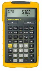 Calculated Industries Advanced Construction Calculatrice de construction de la marque Calculated Industries 4050 Construction Master 5 image 0 produit
