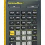 Calculated Industries Advanced Construction Calculatrice de construction de la marque Calculated Industries 4050 Construction Master 5 image 1 produit