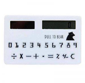 Calculateur solaire créatif Mignon calculatrice mini, point d'onde rose de la marque Black Temptation image 0 produit