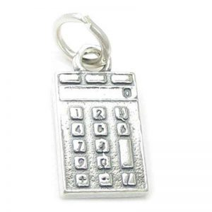 Calculatrice BRELOQUE EN ARGENT STERLING .925 x 1 calculatrices Kingavon breloque cf4218 de la marque Maldon Jewellery image 0 produit
