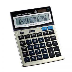 Calculatrice, Bureau De Fonction Standard À Double Puissance pour L'usage De Bureau Et d'affaires (16 Digts) de la marque Calculator image 0 produit
