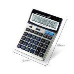Calculatrice, Bureau De Fonction Standard À Double Puissance pour L'usage De Bureau Et d'affaires (16 Digts) de la marque Calculator image 1 produit