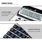 Calculatrice, Bureau De Fonction Standard À Double Puissance pour L'usage De Bureau Et d'affaires (16 Digts) de la marque Calculator image 3 produit