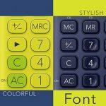 Calculatrice Casio MS Table de YG 20uc dans Trend couleur, écran LCD 12chiffres avec indicateur de commande de calcul, jaune de la marque Casio image 2 produit