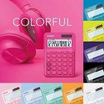 Calculatrice Casio MS Table de YG 20uc dans Trend couleur, écran LCD 12chiffres avec indicateur de commande de calcul, jaune de la marque Casio image 3 produit