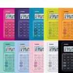 Calculatrice Casio MS Table de YG 20uc dans Trend couleur, écran LCD 12chiffres avec indicateur de commande de calcul, jaune de la marque Casio image 4 produit