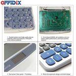 Calculatrice de bureau OFFIDIX Calculatrice de bureau, solaire et batterie Calculatrice électronique à double alimentation Calculatrice portable 12 chiffres à grand écran LCD (grande taille) de la marque OFFIDIX image 2 produit