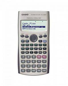 Calculatrice financière Casio FC 100V de la marque Casio image 0 produit