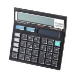Calculatrice, Fonction Standard Calculateur de Bureau à 12 chiffres Alimentation solaire Calculatrices Noir de la marque Little ants image 1 produit