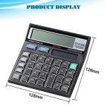 Calculatrice, Fonction Standard Calculateur de Bureau à 12 chiffres Alimentation solaire Calculatrices Noir de la marque Little ants image 2 produit