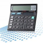 Calculatrice, Fonction Standard Calculateur de Bureau à 12 chiffres Alimentation solaire Calculatrices Noir de la marque Little ants image 4 produit