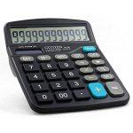Calculatrice,FonctionStandardCalculateurdeBureauavec12chiffresAANoir de la marque Little ants image 1 produit