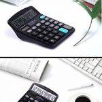 Calculatrice,FonctionStandardCalculateurdeBureauavec12chiffresAANoir de la marque Little ants image 3 produit