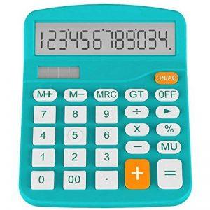 Calculatrice, Helect Fonction Standard Calculateur de Bureau (Bleu) de la marque Helect image 0 produit